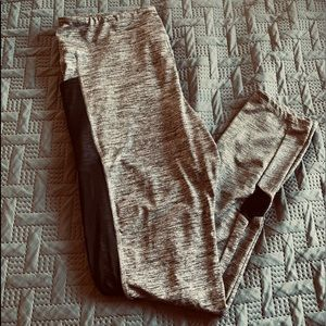Grey workout pants